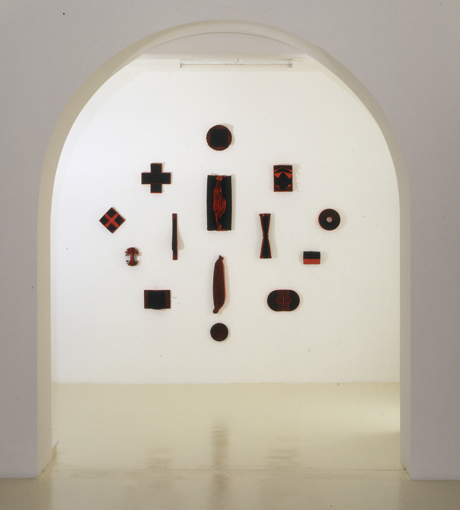 <i>Bloodlight Stack</i> Exhibited at Sherman Galleries in 2002 (Allegoria)