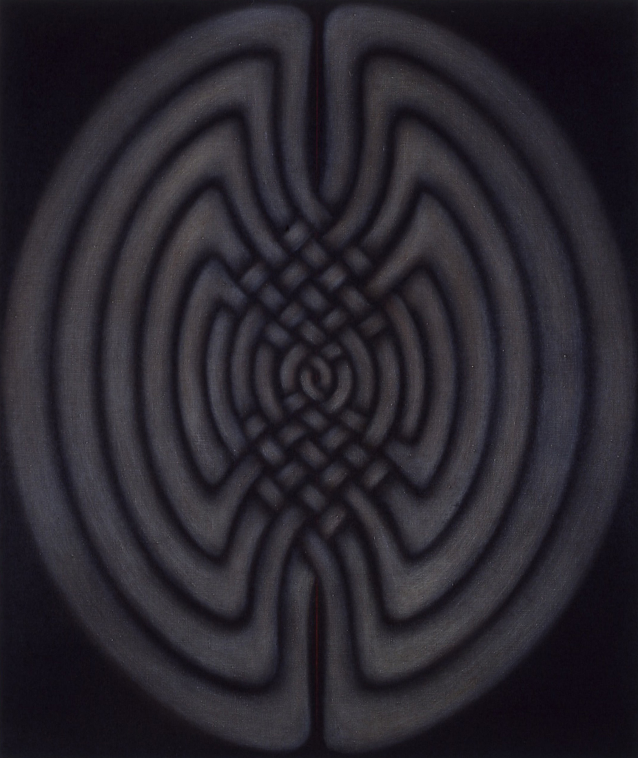 <i>Imbol Painting: Coptic, Celtic, Kubic No. III</i>; 1997; 