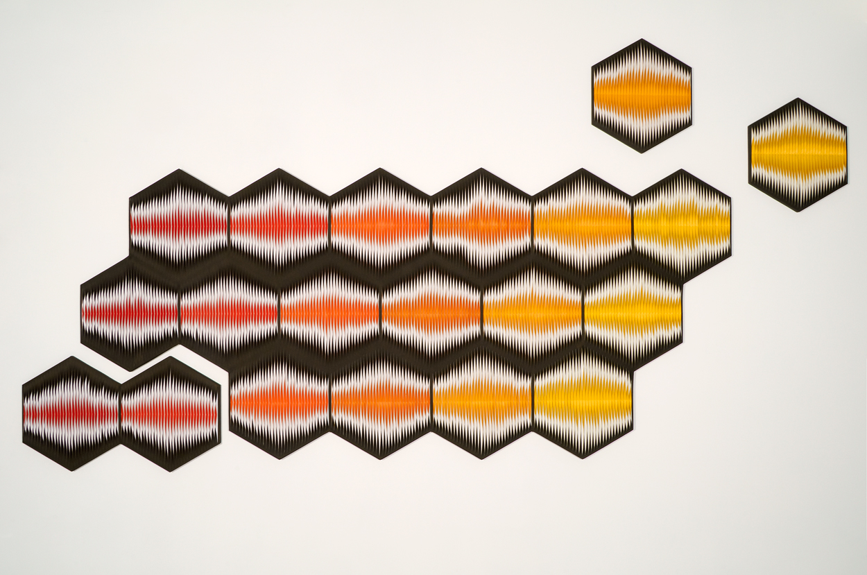 <i>Liquid Light: Honeycomb No. 1</i>; 2011; 