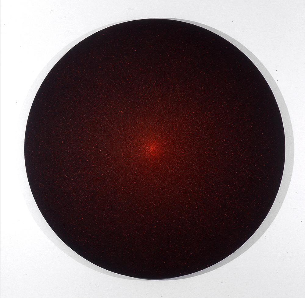 Boodlight Series: Star No. I 1999  pigment on jute