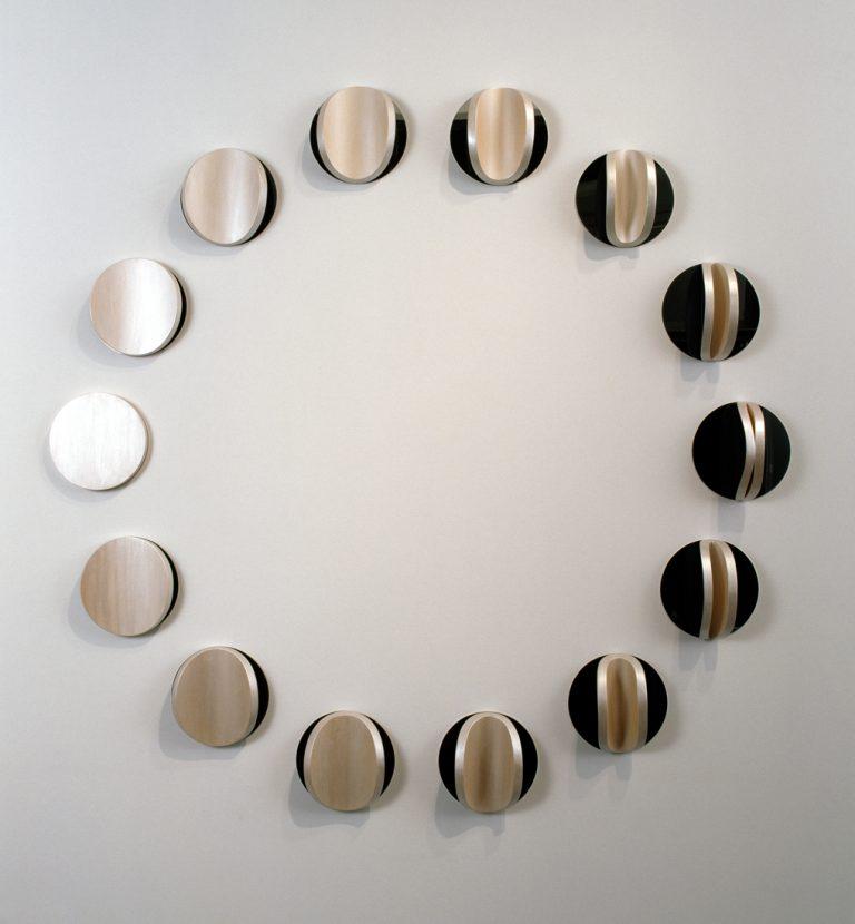 Lunar Circle: No. 4, Flux and Permanence exhibition 2007