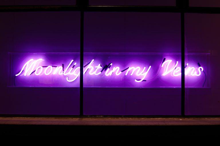 in situ at Dominik Mersch Gallery, Moonlight in My Veins exhibition 2009