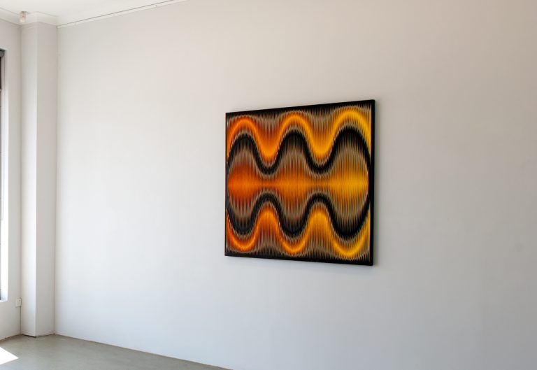 in situ at Turner Galleries, Musical Geometry exhibition 2012