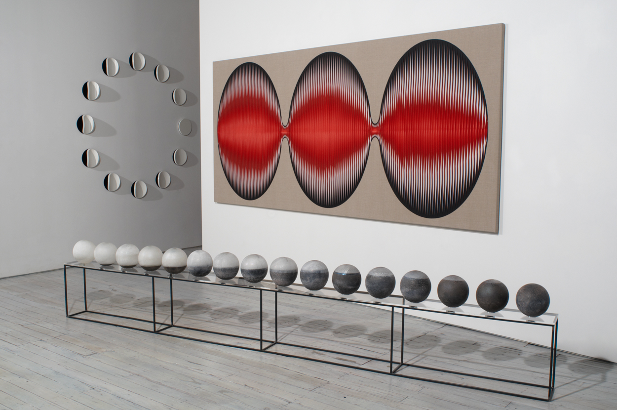 <i>Venetian Tsukimi No.2 (new moon to full moon)</i>; 2007 – 09;
