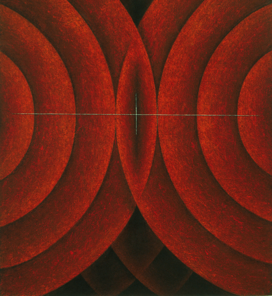 <i>Icons and Emblems Series: Silent Sound No. I</i>; 1995;
