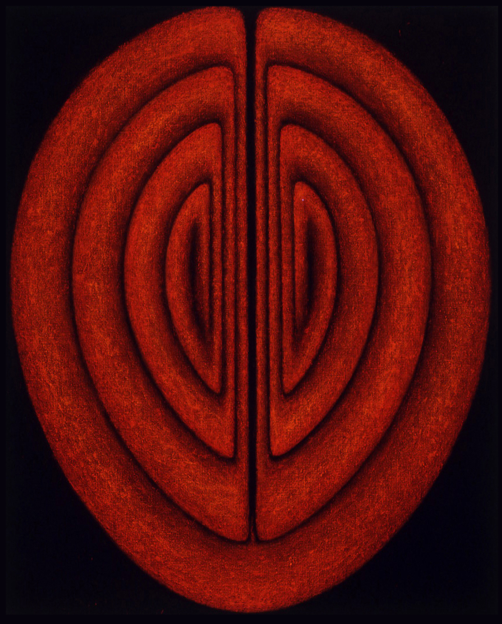 <i>Icons and Emblems Series: Silent Sound No. III</i>; 1995;