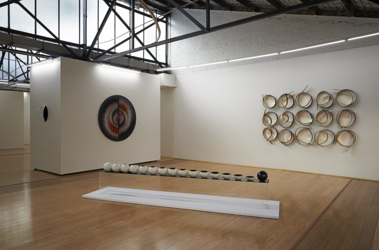 in situ at Dominik Mersch Gallery, A Delicate Balance exhibition 2015