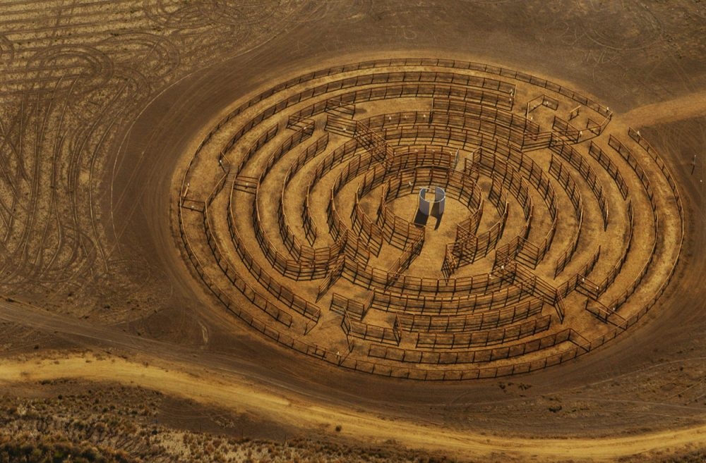 Round Up Maze, Hay, New South Wales, 2005
