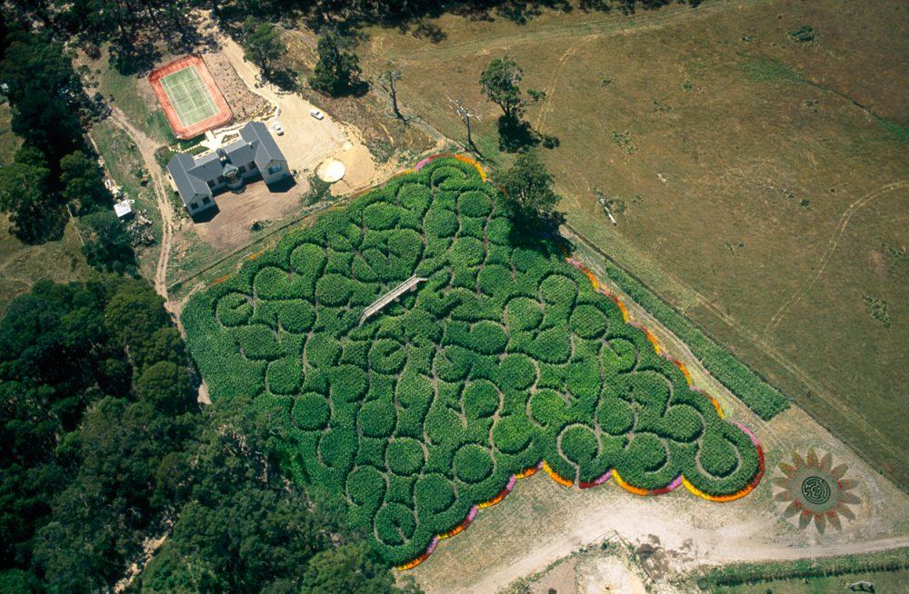55 Ring Maze, Mornington Peninsula, Victoria, 2000