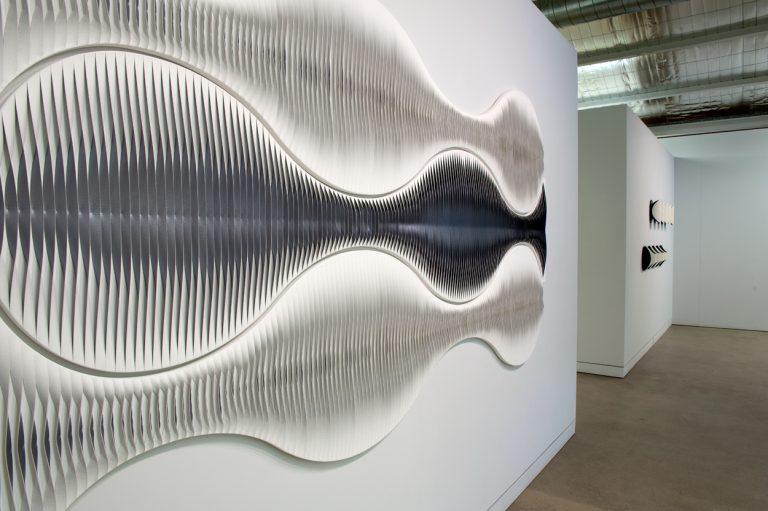 in situ at Turner Galleries, Musical Geometry exhibition 2012