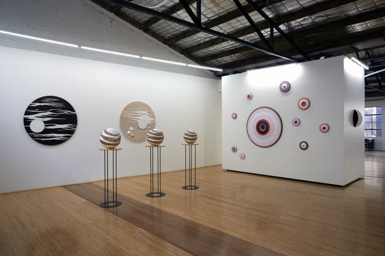 in situ at Dominik Mersch Gallery, A Delicate Balance exhibition 2015