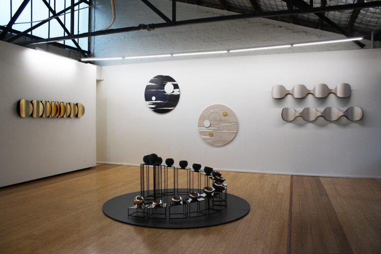 in situ at Dominik Mersch Gallery, Moon's Ghost exhibition 2017